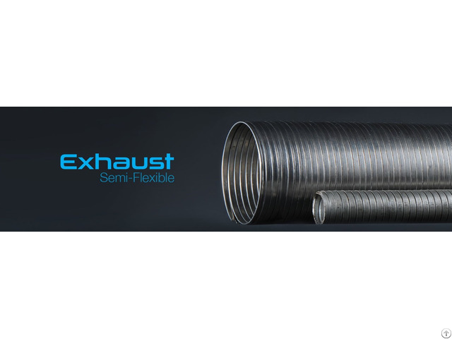 Exhaust Spiral Semi Flexible Pipe