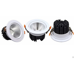9w 12w 15w 20w 30w Rotatable Cob Led Downlight