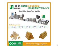 Core Filling Snack Puffed Leisure Food Production Line
