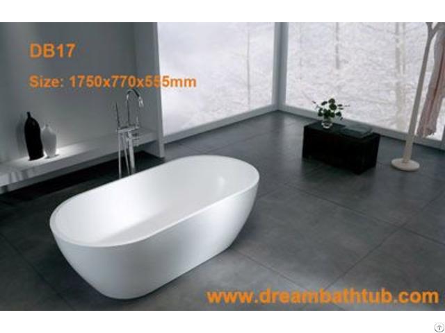 Solid Surface Bathtub Db17