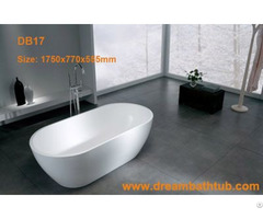 Solid Surface Bathtub Db17