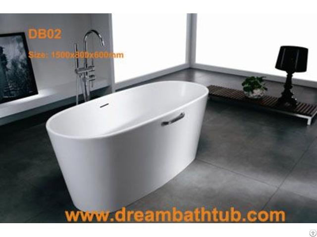 Stone Resin Bathtub