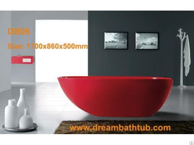Resin Stone Bathtub