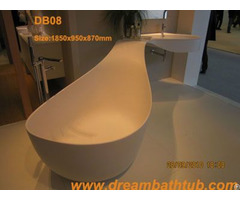 Synthetic Stone Bathtub