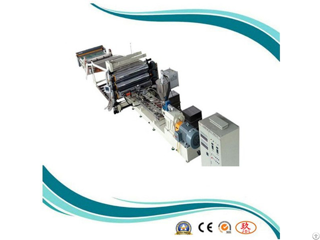 Rubber Damping Sheet Extruder Production Line