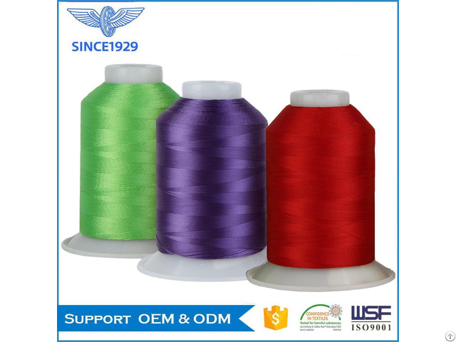 100% Polyester Embroidery Thread 120d 2