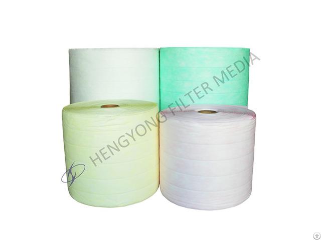 High Dust Loading Bag Filter Media