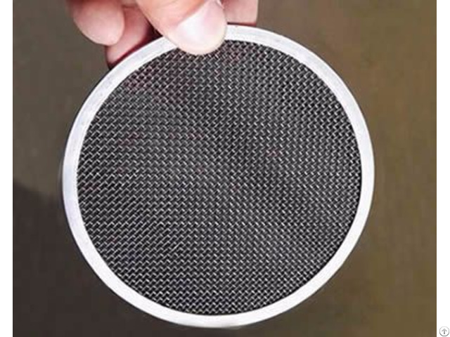Black Wire Cloth Filter Disc