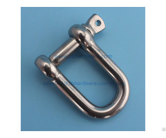 High Quality Grade 316 304 Stainless Steel Shackle