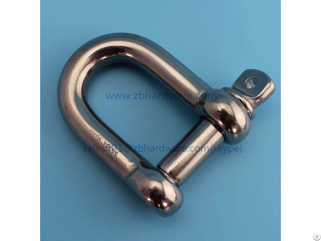 Stainless Steel Adjuster D Shackle And Bow