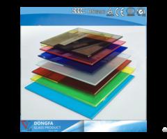 Tinted Pvb Glass For Buildings