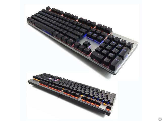 Backlit Mechanical Gaming Keyboard N Key Rollover Support