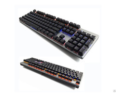 Backlit Mechanical Gaming Keyboard N Key Rollover Support