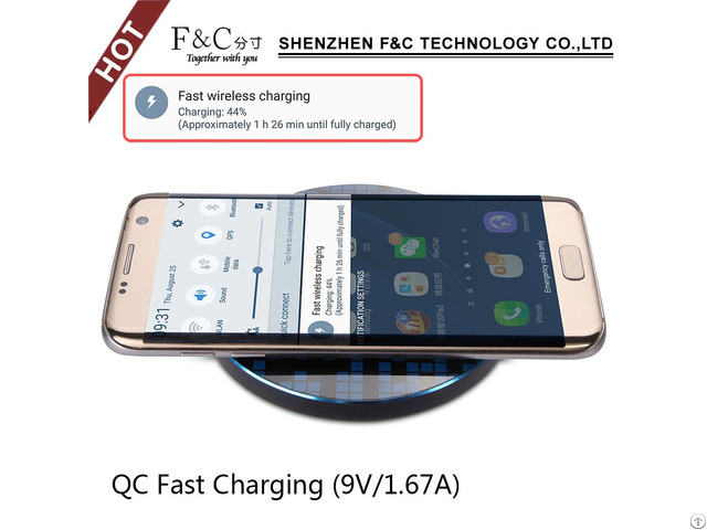 Kd01 Wireless Charger New Fashinable Charging Style