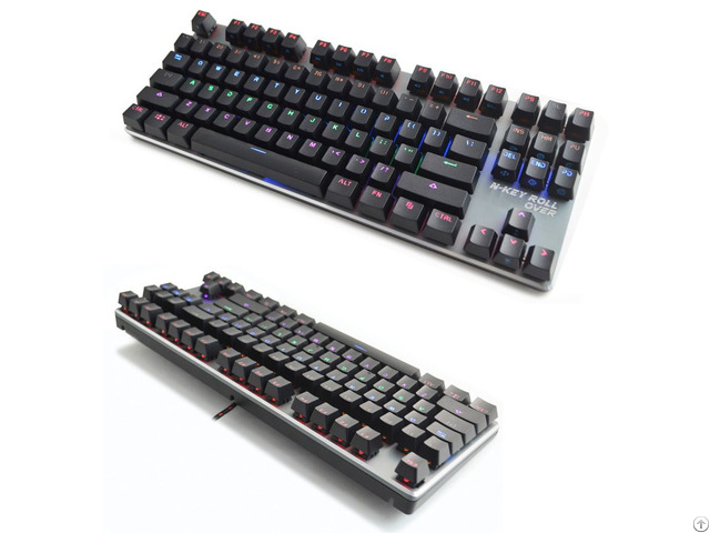 Backlit Compact Size Mechanical Gaming Keyboard