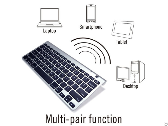 Compact Bluetooth Pc Mac Compatible Keyboard