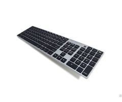 Bluetooth Mac Compatible Keyboard Multi Host Switchable