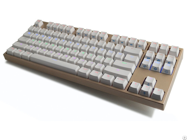 Mechanical Compact Size Backlit Gaming Keyboard