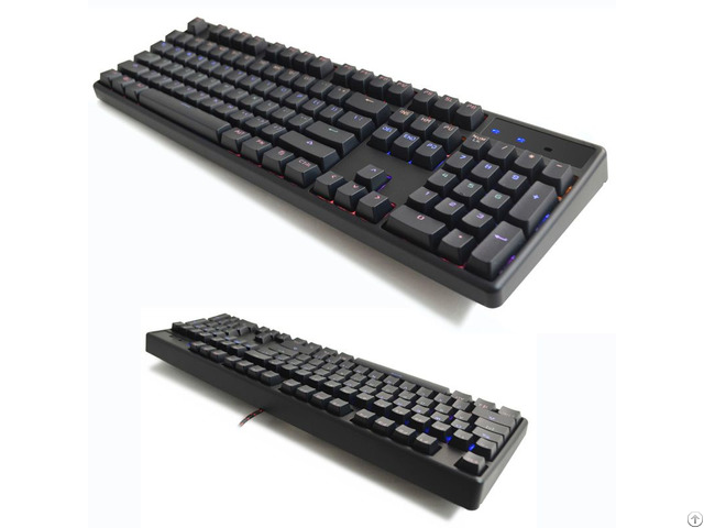 Backlit Full Size Mechanical Gaming Keyboard