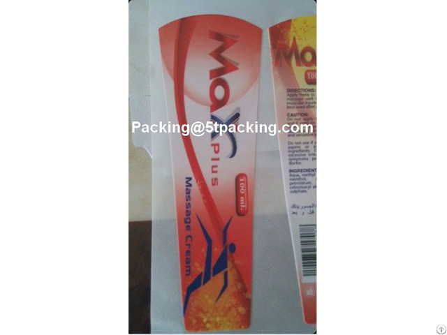 Max Plus Matte Finish Plastic Adhesive Labels