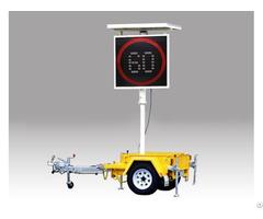 Variable Speed Limited Sign Vsls