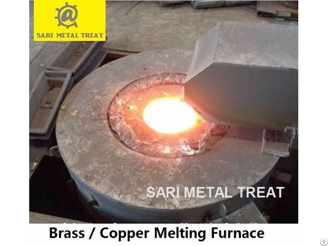 Metal Melting Furnace Aluminum Copper Brass