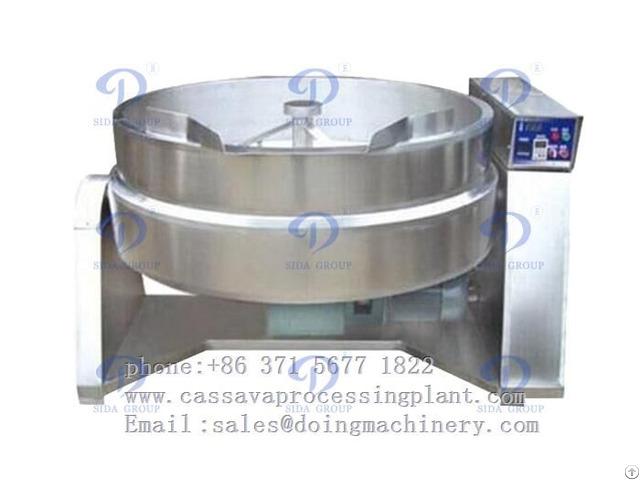 Garri Frying Machine