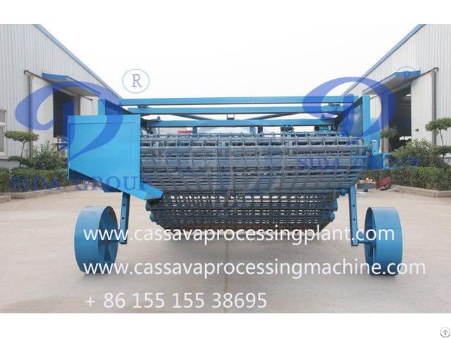 Cassava Harvesting Machine
