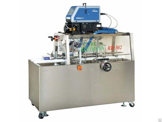 Rh 302 Semi Auto Carton Sealing Packaging Machine