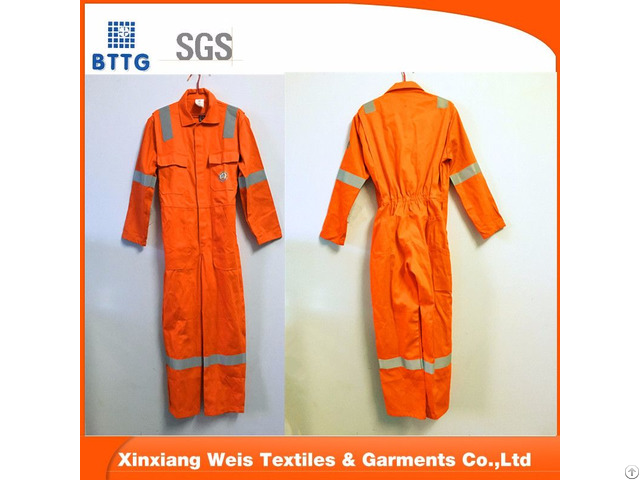 Fire Resistant Safety Workwear Coverall