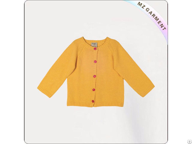 Baby Yellow Cardigan