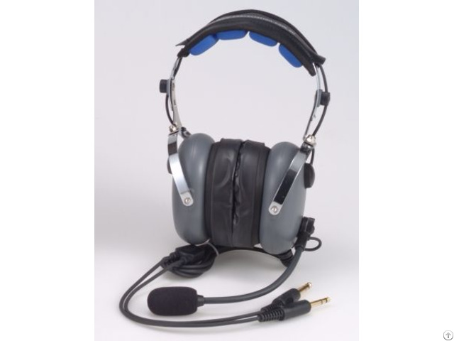 Hs 870 Aviation Headset Over The Head Type