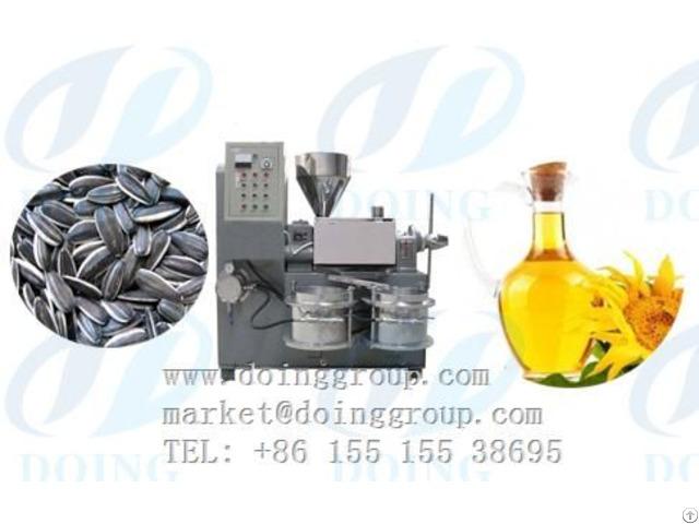 Sunflower Oil Expeller Machines