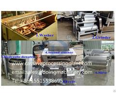 Cassava Processing Of Garri Making Plant