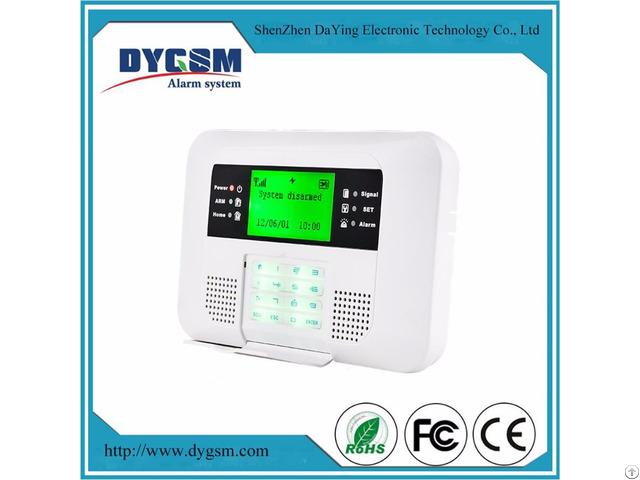 High End Touch Keys Security Burglar Fire Alert Gsm Pstn Alarm System