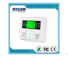 High End Touch Keys Security Burglar Fire Alert Gsm Pstn Alarm System
