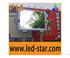 Fullcolor P16 Outdoor Led Display Screens Advertising Board