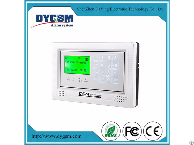 Best Price Touch Screen Diy Wireless Gsm Security Alarm System With Sim Card