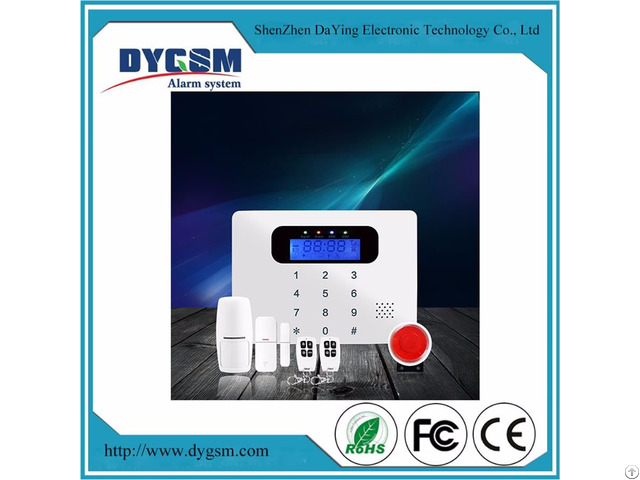 Small Size Android Ios App Touch Keypad Security Alarm System For Homes