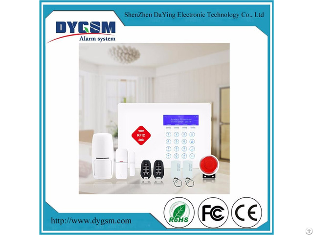 433mhz Intelligent Ultra Thin Smart Home Alarm System