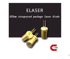 High Color Purity To18 Integrated Package 50mw 532nm Laser Diodes