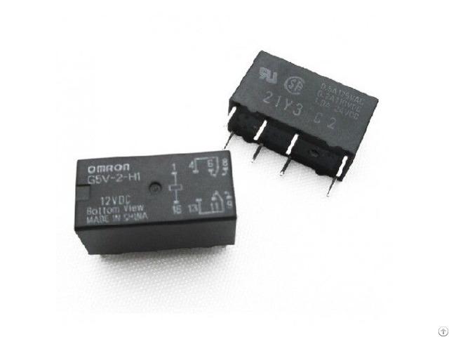 12dc Thruhole Hi Sens Signal Relay G5v 2 H1 Dc12