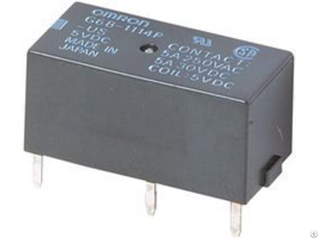 Omron Pcb Power Relay 12vdc G6b 2114p Us Dc12