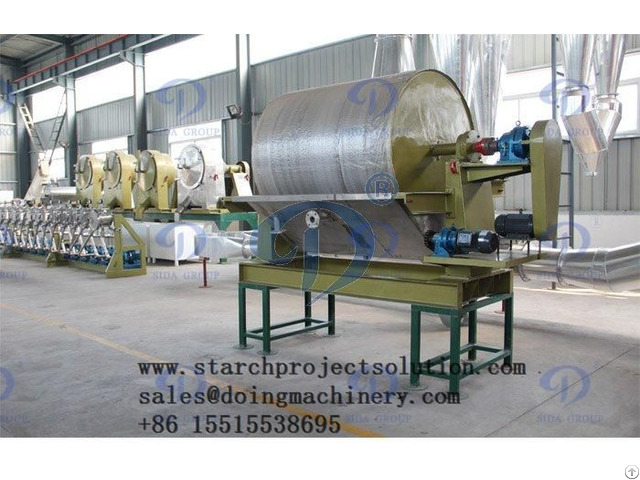 Starch Production Of Vacuum Dewater Machine