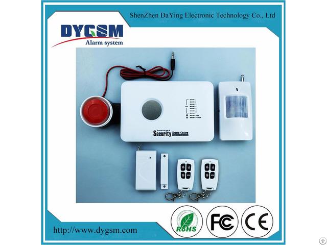 Wireless Intelligent Burglar Home Security Gsm Alarm Dy Gsm10c