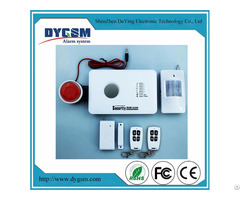 Wireless Intelligent Burglar Home Security Gsm Alarm Dy Gsm10c
