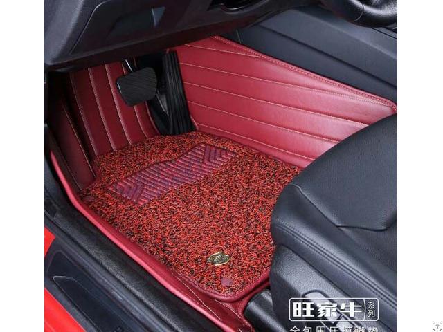 Acm105b Leatherette Car Mat 3d With Pvc Coil Pad