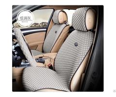 Asc1015 Car Seat Cover Flat Shape Ice Silk Velor