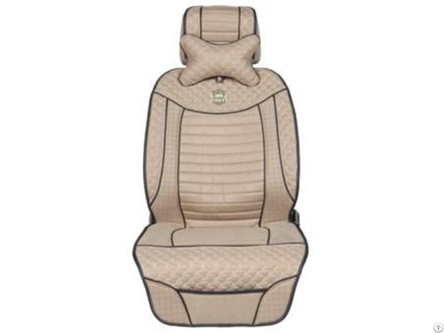 Asc1012 Leatherette Car Seat Cover Flat Shape
