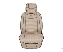 Asc1012 Leatherette Car Seat Cover Flat Shape